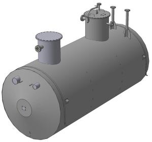 Емкость подземная ЕП-8-2000 без насоса с датчиком ДУУ2М